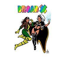 Broad X Photographic Print