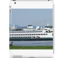 Ferry Walla Walla departing Edmonds iPad Case/Skin