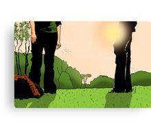What shall we do with the dead body Canvas Print