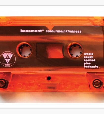 Basement - Colour Me In Kindness Cassette Sticker