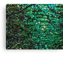 The Depths of a Memory Canvas Print