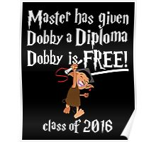 Dobby is Free! Graduation 2016 Poster