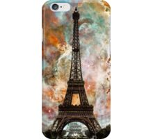 The Eiffel Tower - Paris France Art By Sharon Cummings iPhone Case/Skin