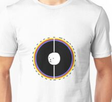 Circles with Funky Face Design | Many Faces Series Unisex T-Shirt