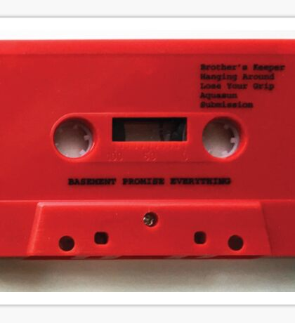 Basement - Promise Everything Cassette Sticker