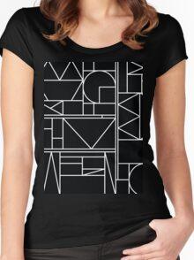 Kaku BW Women's Fitted Scoop T-Shirt