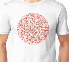 70 - Ishihara Color Test Unisex T-Shirt