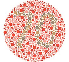 70 - Ishihara Color Test Photographic Print