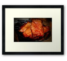Homemade Bacon Framed Print