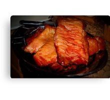 Homemade Bacon Canvas Print