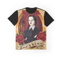 Wednesday Addams - Stay Weird Graphic T-Shirt