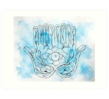 Healing Hands II Art Print