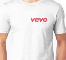 Vevo Youtube video music logo Unisex T-Shirt