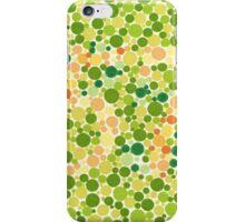57 - Ishihara Color Test iPhone Case/Skin