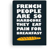 French People Canvas Print