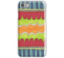 bright playful illustration iPhone Case/Skin