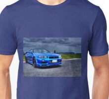 Nissan Skyline in HDR Unisex T-Shirt