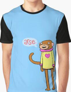 Arse Monkey Graphic T-Shirt