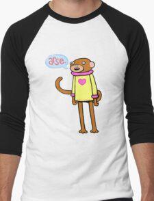 Arse Monkey Men's Baseball ¾ T-Shirt