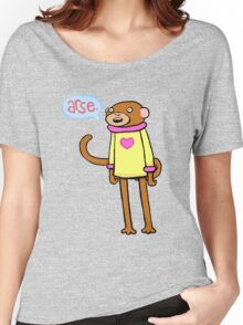 Arse Monkey Women's Relaxed Fit T-Shirt