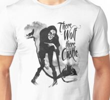 There Wolf There castle Unisex T-Shirt