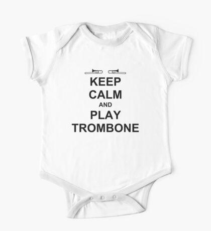 Play Trombone (Black) One Piece - Short Sleeve