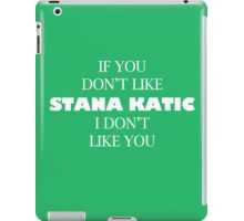 I like Stana katic iPad Case/Skin
