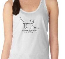 String Cat Plays With String Women's Tank Top