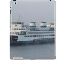Ferry Hyak in the fog iPad Case/Skin