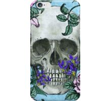 Skulls, Roses, and Deadly Nightshade iPhone Case/Skin