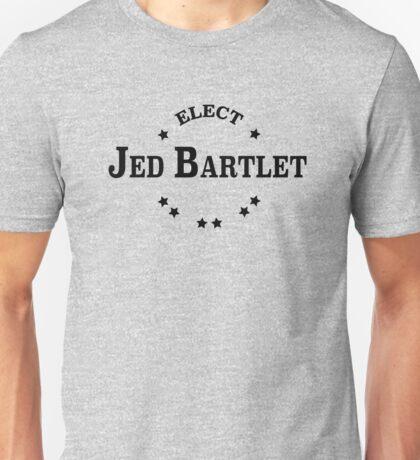 Elect Jed Bartlet Collegiate Unisex T-Shirt