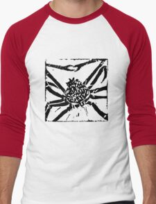 Giant Spider Crab - Museum Linocut Collection Men's Baseball ¾ T-Shirt