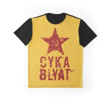 Cyka Blyat Graphic T-Shirt