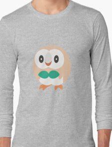 Rowlet Vector (Pokemon) Long Sleeve T-Shirt