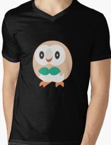 Rowlet Vector (Pokemon) Mens V-Neck T-Shirt