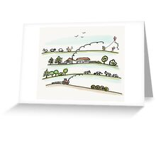 Landleben Greeting Card