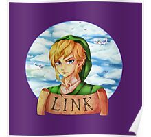 Skyward Sword Link : Hero of Skyloft Poster