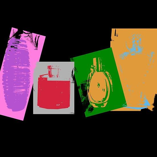 Perfume Bottles by PrinceRobbie