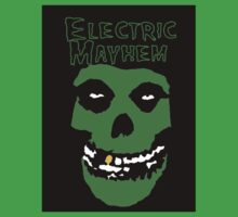 Electric Mayhem Parody Logo Kids Tee