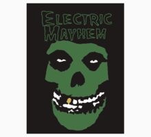 Electric Mayhem Parody Logo One Piece - Short Sleeve