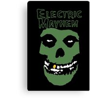 Electric Mayhem Parody Logo Canvas Print
