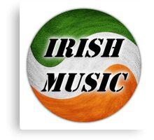 Cool Irish Music Canvas Print
