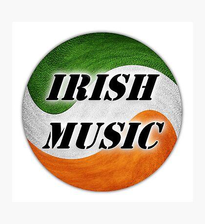 Cool Irish Music Photographic Print