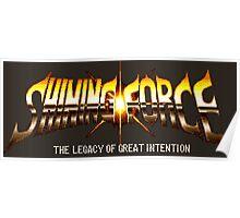 Shining Force (Genesis Title Sreen) Poster