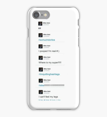 the best of mike faist tweets iPhone Case/Skin