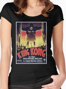 King Kong Women's Fitted Scoop T-Shirt