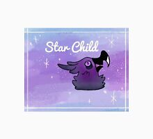 Star Child galaxy bird Unisex T-Shirt