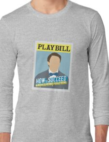 How to Succeed Playbill - DR Long Sleeve T-Shirt