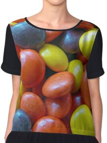 Reeses Pieces Chiffon Top
