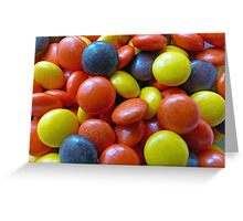 Reeses Pieces Greeting Card